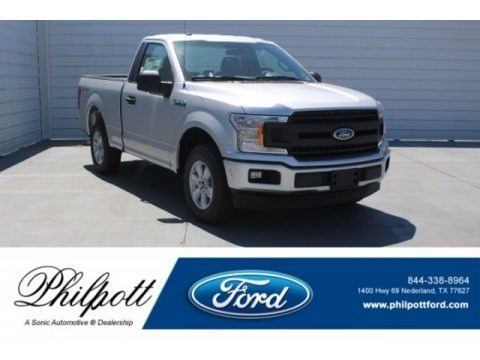 Ingot Silver 2018 Ford F150 XL Regular Cab