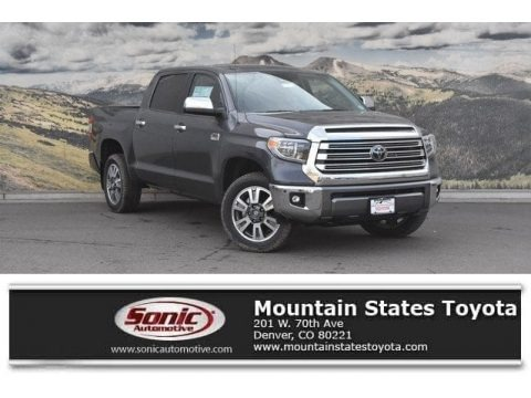 Magnetic Gray Metallic 2018 Toyota Tundra 1794 Edition CrewMax 4x4