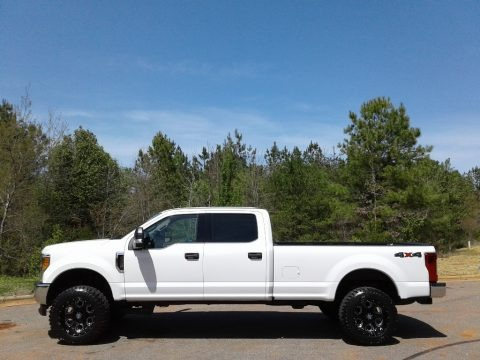 Oxford White 2017 Ford F250 Super Duty XLT Crew Cab 4x4