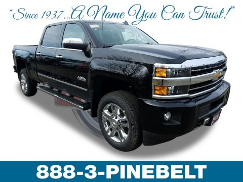 Black 2018 Chevrolet Silverado 2500HD High Country Crew Cab 4x4