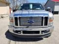Ford F350 Super Duty Lariat Crew Cab 4x4 Ingot Silver Metallic photo #3