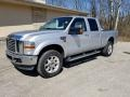 Ford F350 Super Duty Lariat Crew Cab 4x4 Ingot Silver Metallic photo #6