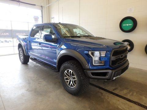 Lightning Blue 2018 Ford F150 SVT Raptor SuperCrew 4x4