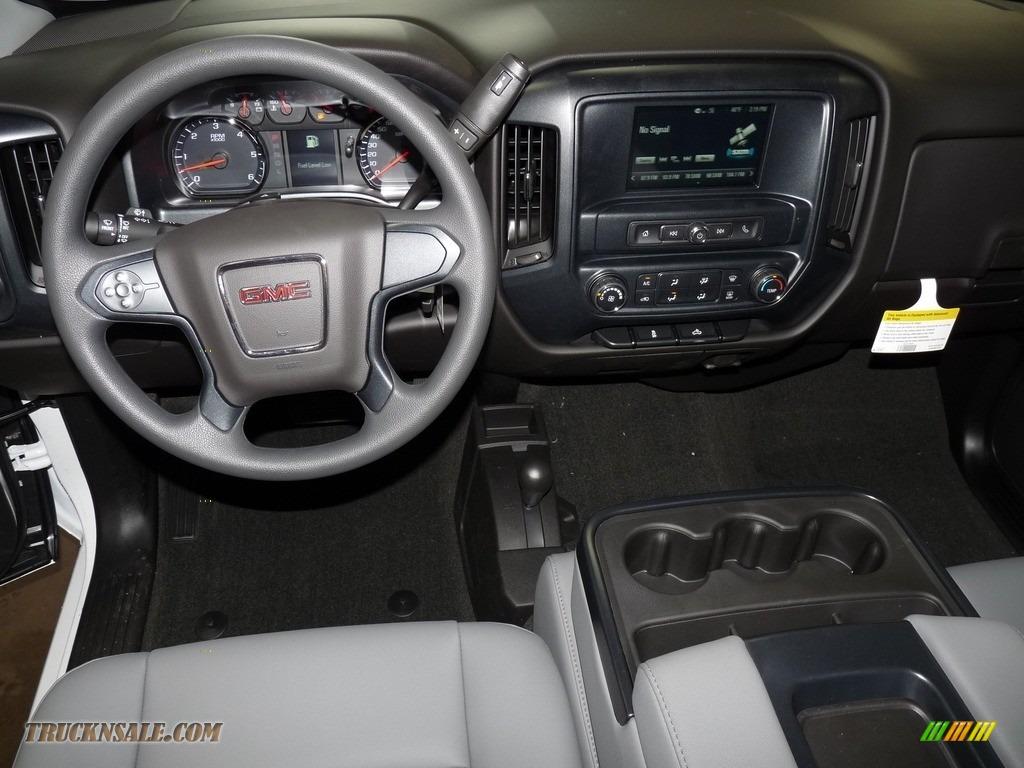 2018 Sierra 1500 Regular Cab 4WD - Summit White / Dark Ash/Jet Black photo #7