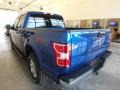 Ford F150 XLT SuperCrew 4x4 Lightning Blue photo #3