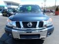Nissan Titan SV Crew Cab 4x4 Graphite Blue photo #12
