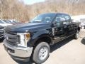 Ford F250 Super Duty XL Crew Cab 4x4 Shadow Black photo #5