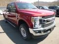 Ford F250 Super Duty XLT Crew Cab 4x4 Ruby Red photo #3