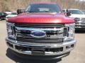 Ford F250 Super Duty XLT Crew Cab 4x4 Ruby Red photo #4
