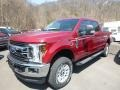 Ford F250 Super Duty XLT Crew Cab 4x4 Ruby Red photo #5