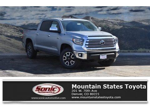 Silver Sky Metallic 2018 Toyota Tundra Limited CrewMax 4x4