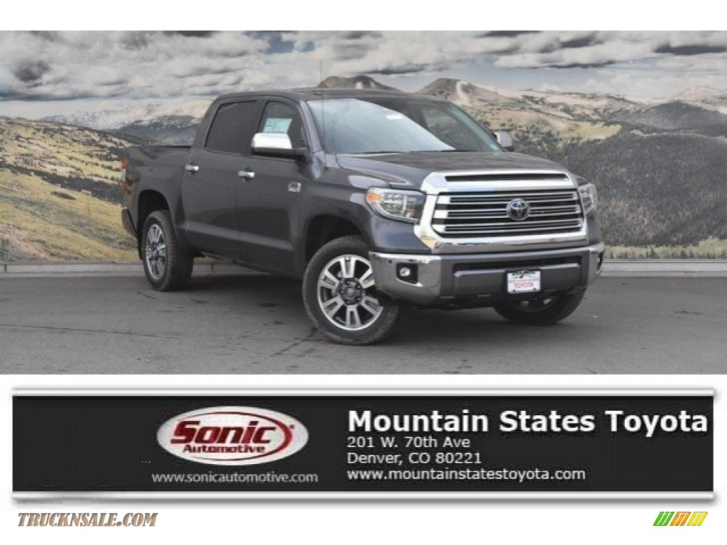 2018 Tundra 1794 Edition CrewMax 4x4 - Magnetic Gray Metallic / 1794 Edition Black/Brown photo #1