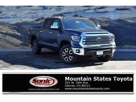 Magnetic Gray Metallic 2018 Toyota Tundra Limited CrewMax 4x4