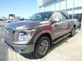 Nissan Titan Platinum Reserve Crew Cab 4x4 Java Metallic photo #7