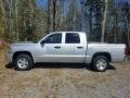 Dodge Dakota SLT Crew Cab Bright Silver Metallic photo #2