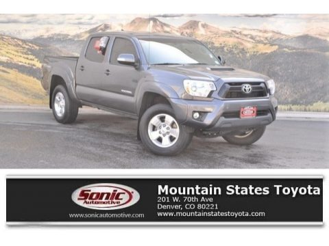 Magnetic Gray Metallic 2015 Toyota Tacoma V6 Double Cab 4x4