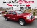 Dodge Dakota SLT Quad Cab 4x4 Inferno Red Crystal Pearl photo #1