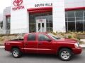 Dodge Dakota SLT Quad Cab 4x4 Inferno Red Crystal Pearl photo #2
