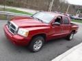 Dodge Dakota SLT Quad Cab 4x4 Inferno Red Crystal Pearl photo #5