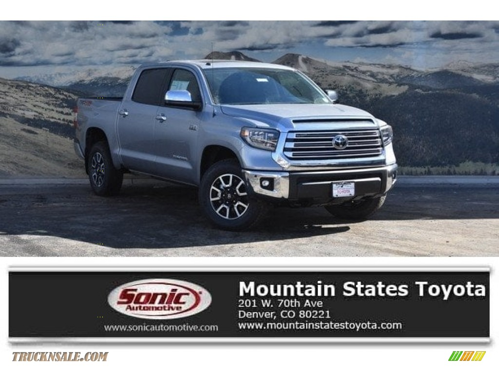 2018 Tundra Limited CrewMax 4x4 - Silver Sky Metallic / Black photo #1