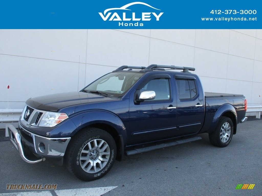 2010 Frontier SE Crew Cab 4x4 - Navy Blue / Steel photo #1