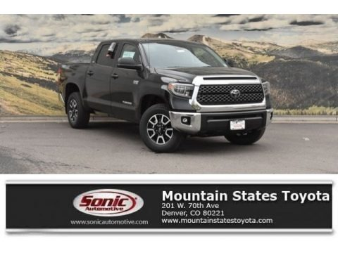 Midnight Black Metallic 2018 Toyota Tundra SR5 CrewMax 4x4