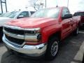 Chevrolet Silverado 1500 LS Regular Cab 4x4 Red Hot photo #1