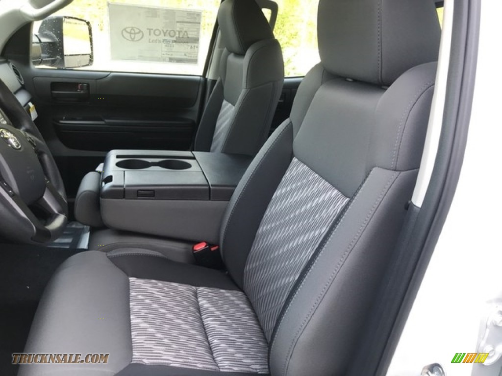 2018 Tundra SR Double Cab 4x4 - Super White / Graphite photo #9