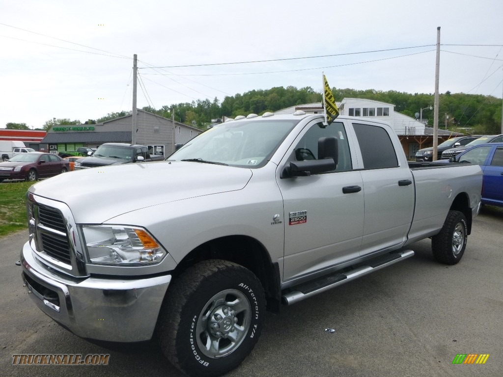 Bright Silver Metallic / Dark Slate/Medium Graystone Dodge Ram 2500 HD ST Crew Cab 4x4