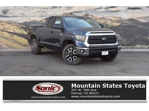 Magnetic Gray Metallic 2018 Toyota Tundra SR5 Double Cab 4x4
