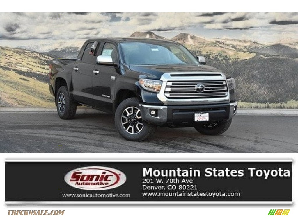 Midnight Black Metallic / Black Toyota Tundra Limited CrewMax 4x4