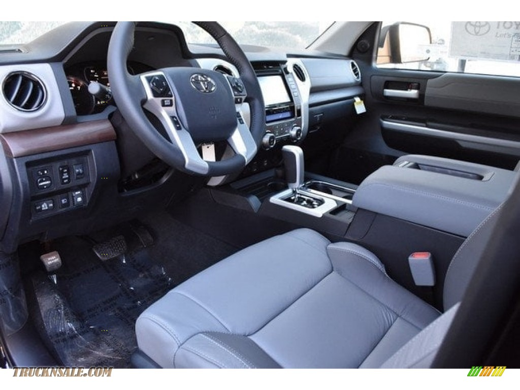 2018 Tundra Limited CrewMax 4x4 - Midnight Black Metallic / Black photo #5