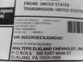 Chevrolet Silverado 1500 LTZ Crew Cab 4x4 Centennial Blue Metallic photo #52