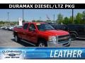 Chevrolet Silverado 2500HD LTZ Crew Cab 4x4 Victory Red photo #1