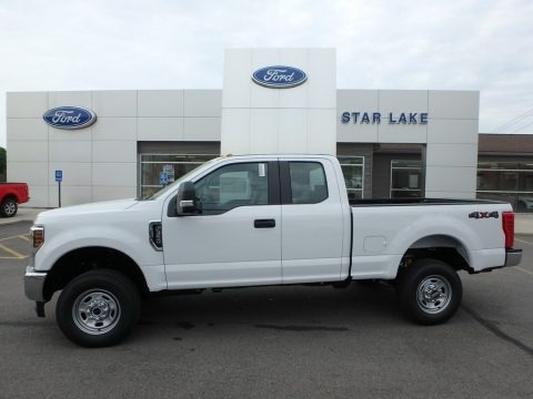Oxford White 2018 Ford F350 Super Duty XL SuperCab 4x4