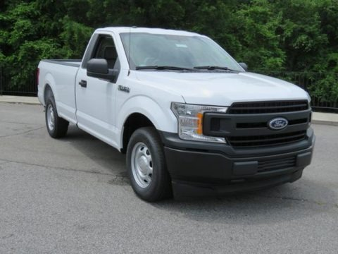 Oxford White 2018 Ford F150 XL Regular Cab