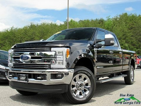 Shadow Black 2018 Ford F350 Super Duty Lariat Crew Cab 4x4