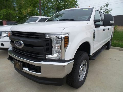 Oxford White 2018 Ford F350 Super Duty XL Crew Cab 4x4