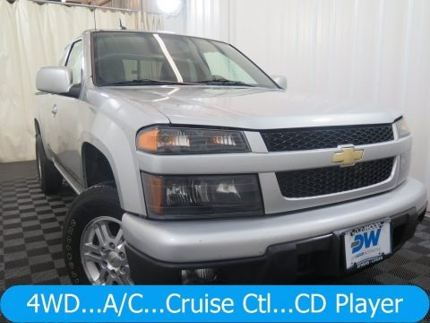 Sheer Silver Metallic 2012 Chevrolet Colorado LT Extended Cab 4x4