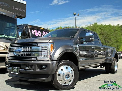 Magnetic 2018 Ford F450 Super Duty Platinum Crew Cab 4x4