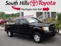 Ford F150 STX SuperCab 4x4 Tuxedo Black Metallic photo #1