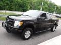 Ford F150 STX SuperCab 4x4 Tuxedo Black Metallic photo #7