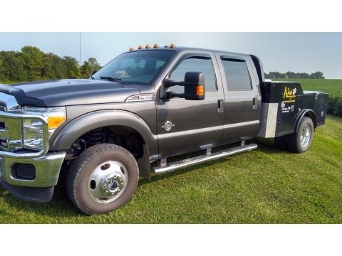 Magnetic Metallic 2016 Ford F350 Super Duty XLT Crew Cab 4x4 DRW