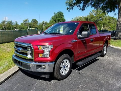 Ruby Red 2017 Ford F150 XLT SuperCab