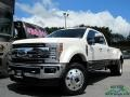 Ford F450 Super Duty King Ranch Crew Cab 4x4 White Platinum photo #1