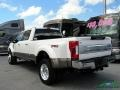 Ford F450 Super Duty King Ranch Crew Cab 4x4 White Platinum photo #3