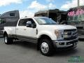 Ford F450 Super Duty King Ranch Crew Cab 4x4 White Platinum photo #8