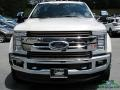 Ford F450 Super Duty King Ranch Crew Cab 4x4 White Platinum photo #9
