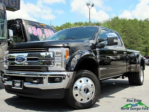 Shadow Black 2018 Ford F450 Super Duty King Ranch Crew Cab 4x4