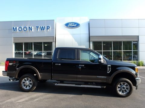 Shadow Black 2017 Ford F350 Super Duty King Ranch Crew Cab 4x4